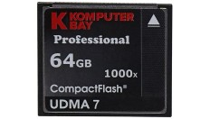 CompactFlash Komputerbay 64 GB